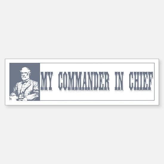 Commander in Chief Bumper Bumper Bumper Sticker