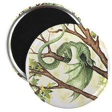 Green Fairy Dragon Magnet