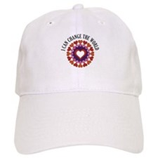 I can change the world Baseball Cap