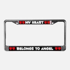 My Heart: Angel (#001) License Plate Frame