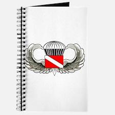 Cute Scuba flag Journal