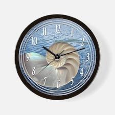 Cute Sea shells Wall Clock
