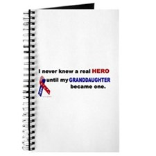Never Knew A Hero.....Granddaughter (ARMY) Journal