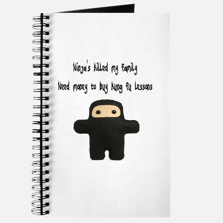 """""""Ninja's killed my family, need money to buy kung"""