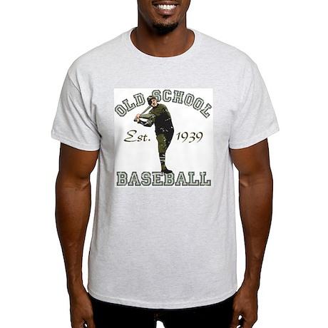 Old School Baseball Light T-Shirt