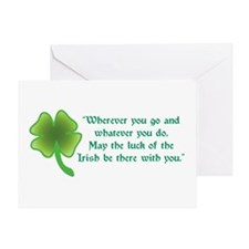 The Luck of the Irish Greeting Card