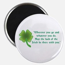 The Luck of the Irish Magnet