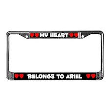 My Heart: Ariel (#001) License Plate Frame