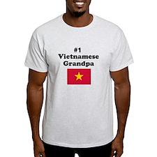 #1 Vietnamese Grandpa T-Shirt