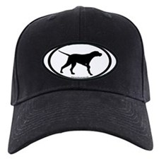 Pointer Dog Oval Baseball Hat