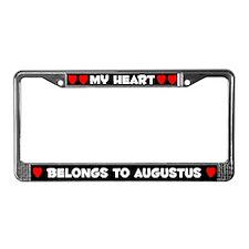 My Heart: Augustus (#001) License Plate Frame