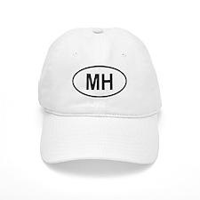 Marshall Islands Oval Baseball Cap