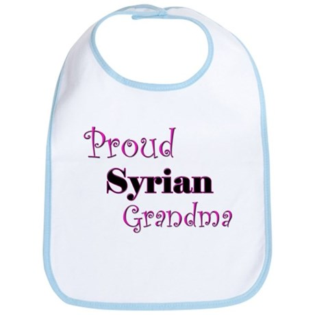 Proud Syrian Grandma Bib