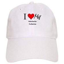I Heart My Veterinarian Technician Baseball Cap