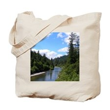 Scenic Eel River Tote Bag