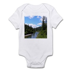 Scenic Eel River Infant Bodysuit