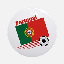 Portugal Soccer Team Ornament (Round)