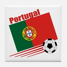 Portugal Soccer Team Tile Coaster