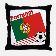 Portugal Soccer Team Throw Pillow