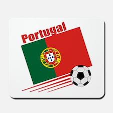 Portugal Soccer Team Mousepad