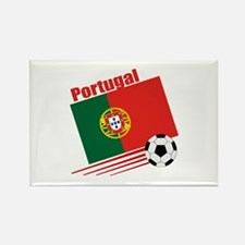 Portugal Soccer Team Rectangle Magnet (10 pack)
