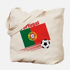 Portugal Soccer Team Tote Bag