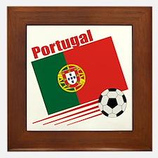 Portugal Soccer Team Framed Tile