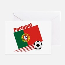 Portugal Soccer Team Greeting Cards (Pk of 10)