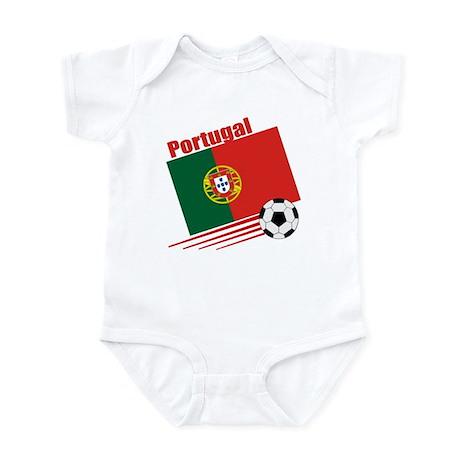 Portugal Soccer Team Infant Bodysuit