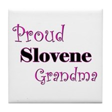 Proud Slovene Grandma Tile Coaster