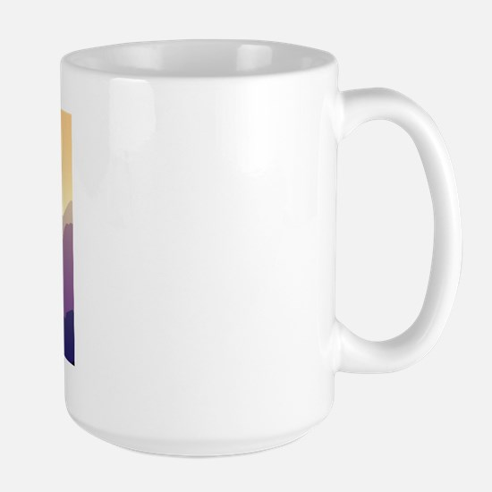 Purple Mountains Pointer Large Mug