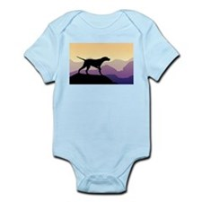Purple Mountains Pointer Infant Bodysuit