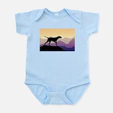 Purple Mountains Pointer Infant Bodysuit