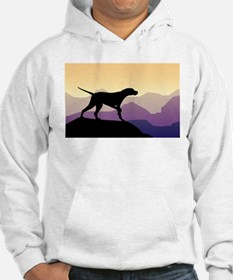Purple Mountains Pointer Hoodie