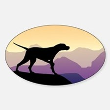 Purple Mountains Pointer Decal