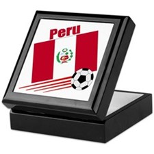 Peru Soccer Team Keepsake Box