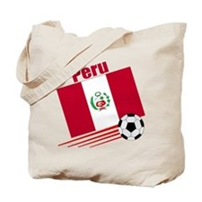 Peru Soccer Team Tote Bag