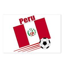 Peru Soccer Team Postcards (Package of 8)