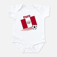 Peru Soccer Team Infant Bodysuit
