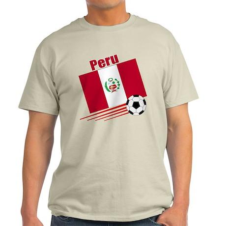 Peru Soccer Team Light T-Shirt