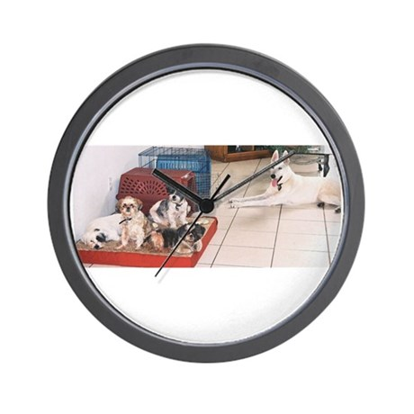 The Dog House Wall Clock