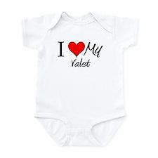 I Heart My Valet Infant Bodysuit