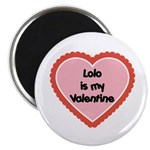 Lolo is My Valentine Magnet