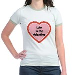 Lolo is My Valentine Jr. Ringer T-Shirt