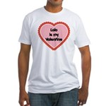 Lolo is My Valentine Fitted T-Shirt