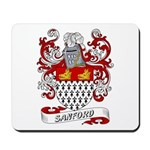 Sanford Coat of Arms Mousepad