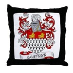 Sanford Coat of Arms Throw Pillow