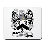 Sargent Coat of Arms Mousepad