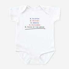 Cute Romney in 2008 Infant Bodysuit