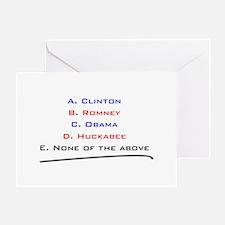 Cool Huckabee Greeting Card